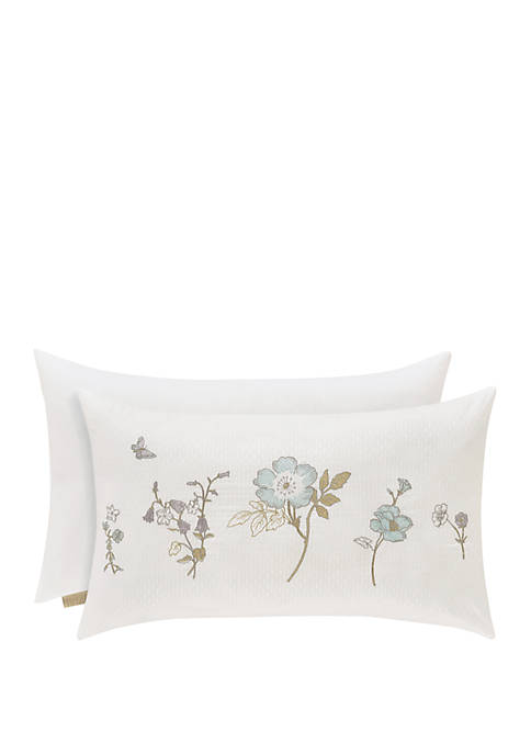 Katelyn White Boudoir Decorative Throw Pillow
