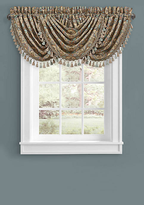 J Queen New York Victoria Window Waterfall Valance