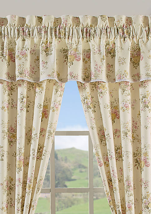 Piper & Wright Jackie Yellow Window Straight Valance