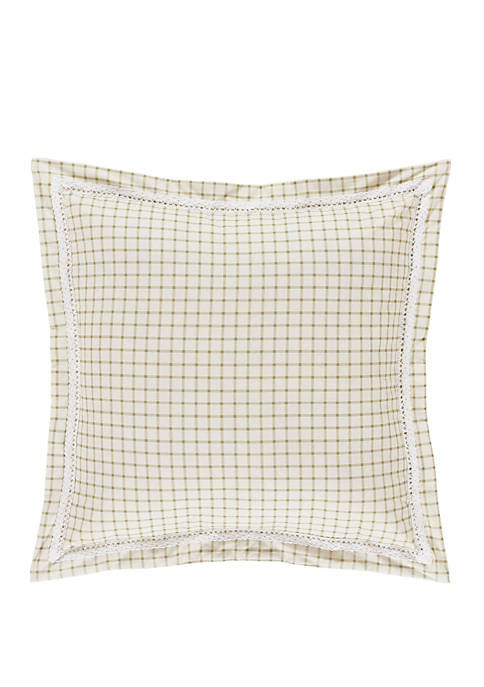 Piper & Wright Jackie 18 Inch Square Decorative