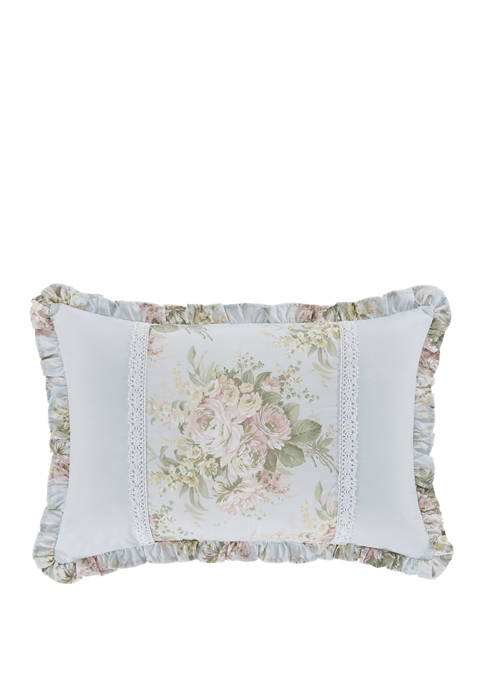 Hilary Blue Boudoir Decorative Throw Pillow