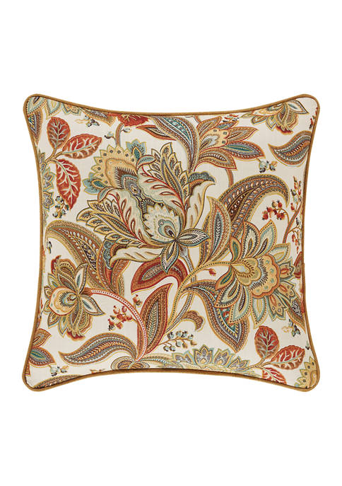 August Multi 18 Inch Square Decorative Throw Pillow