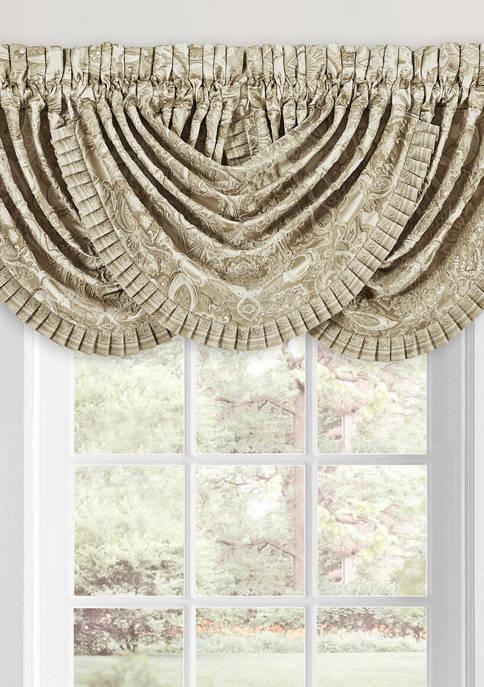 J Queen New York Sandstone Window Waterfall Valance