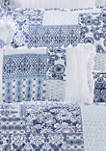 Tessa Navy Boudoir Decorative Throw Pillow