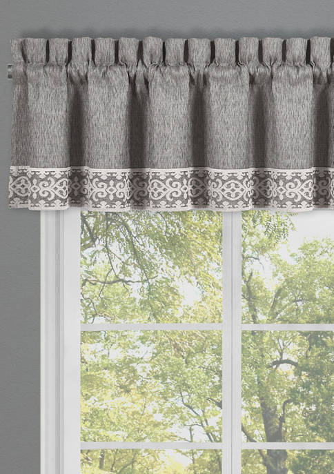 J Queen New York Giselle Straight Window Valance