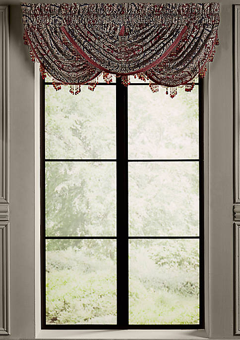 J Queen New York Taormina Window Waterfall Valance