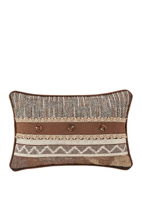 Timber Linen Boudoir Decorative Throw Pillow