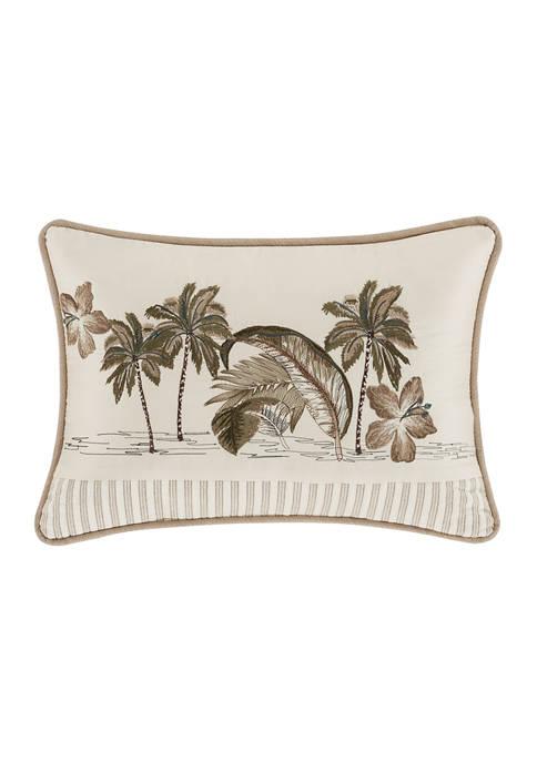 Palm Beach Sand Boudoir Decorative Throw Pillow