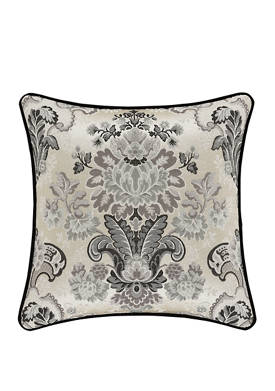 Annette 18 Inch Square Decorative Throw Pillow