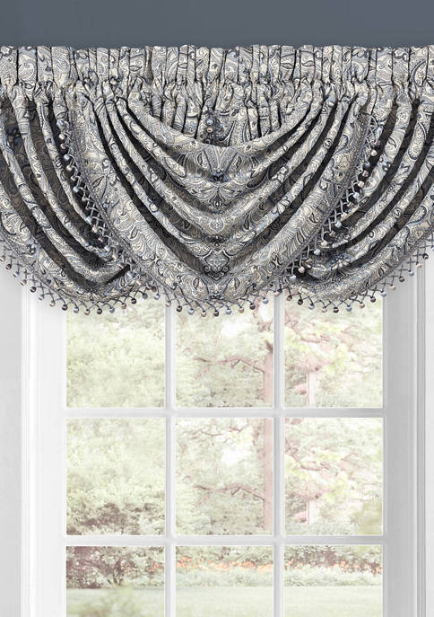 J Queen New York Alexis Window Waterfall Valance