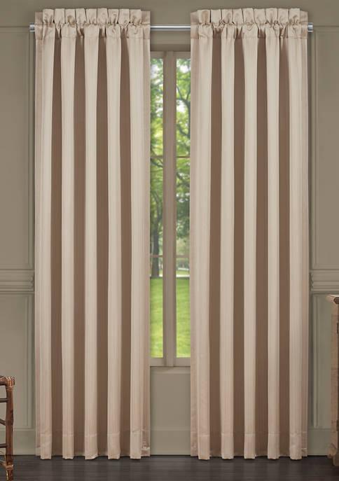 Five Queens Court Cresmont Gold 84 Inch Window