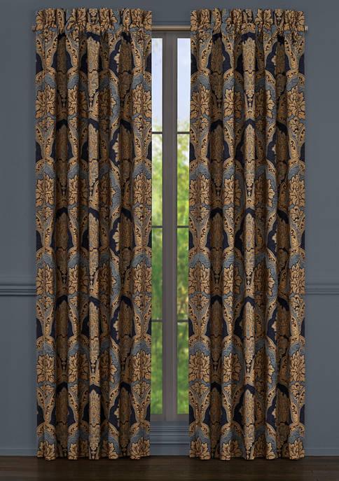 Bristol Indigo 84 Inch Window Panel Pair