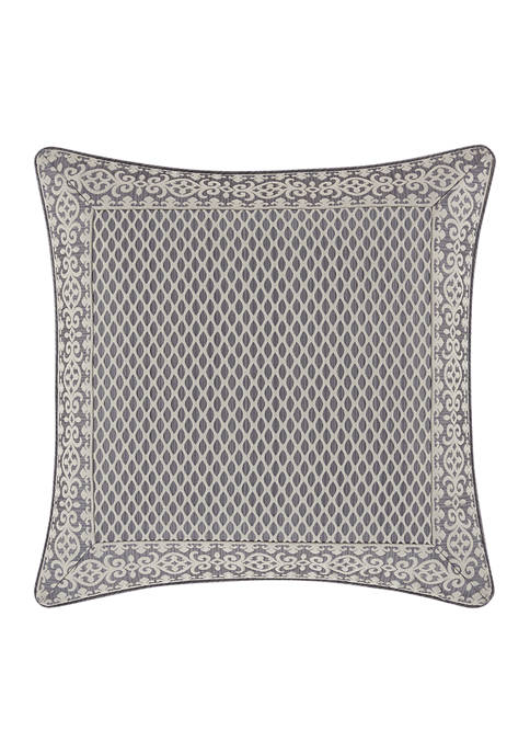 Five Queens Court Houston Charcoal Euro Sham