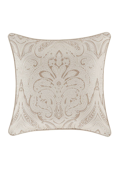 Trinity Champagne 20 Inch Square Decorative Throw Pillow