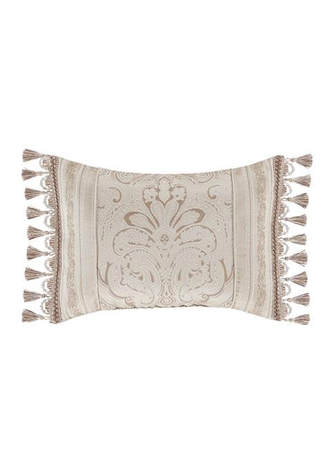 Trinity Champagne Boudoir Decorative Throw Pillow