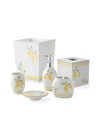 J Queen New York Citron Lemon Bath Accessories Belk