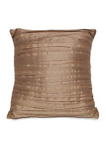 Eleganza Square Pleated Decorative Pillow