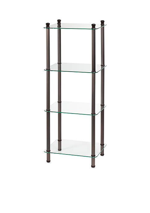 Creative Bath 4-Shelf Oil Rubbed Bronze Tower