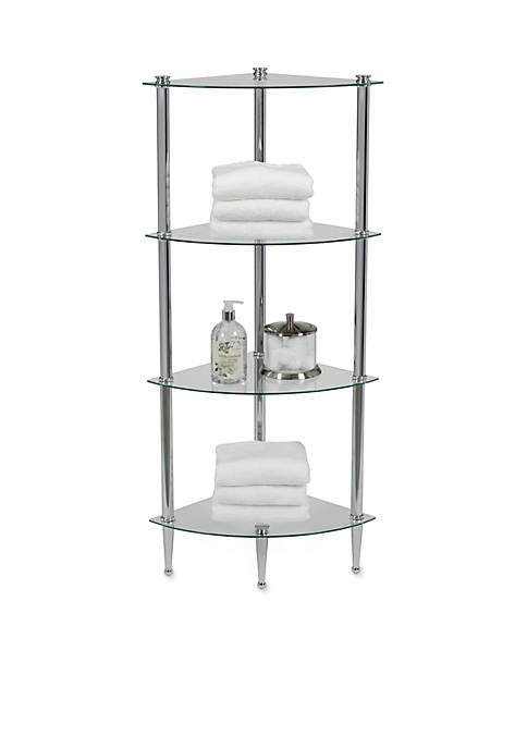 Creative Ware Home LEtagere 4 Shelf Corner Tower