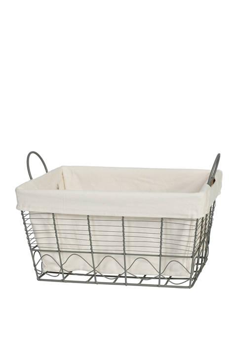 Creative Ware Home Soho Wire Towel Storage Basket