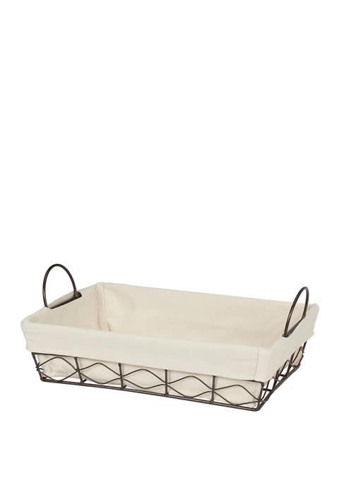 Creative Ware Home Soho Wire Vanity Basket