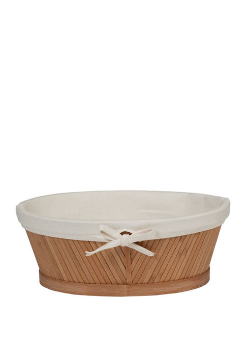 Creative Ware Home Eco Styles Oval Vanity Basket