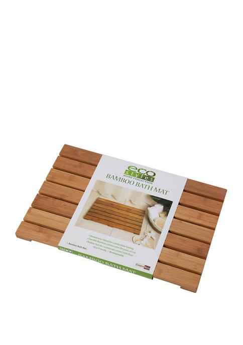 Eco Styles Bath Mat - Bamboo