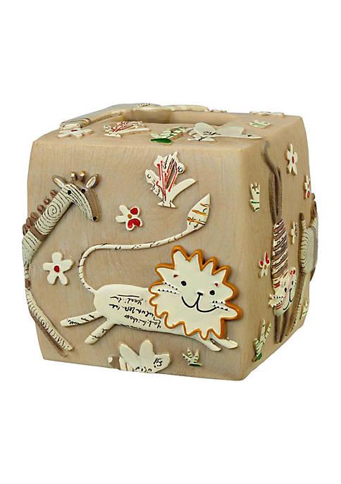 Creative Bath Animal Crackers Tissue Box Cover