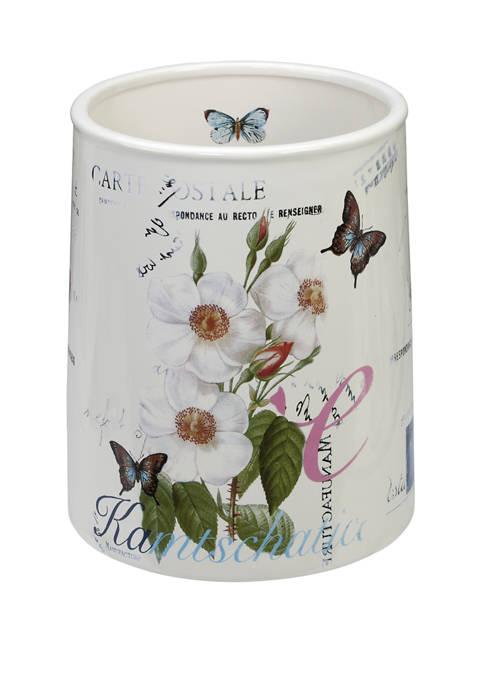 Botanical Diary Wastebasket