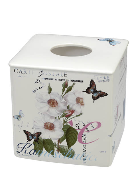 Creative Bath Botanical Diary Boutique Tissue Holder
