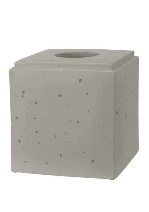 Creative Bath Concrete Boutique Tissue Holder