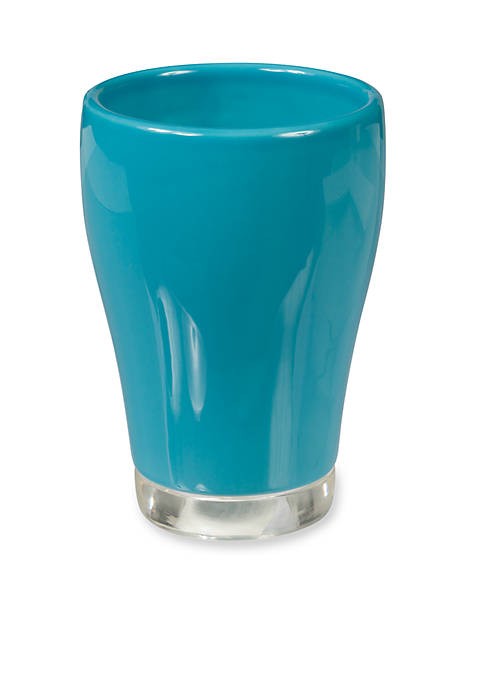 Creative Bath GEM Turquoise Tumbler 3.12-in. x 3.12-in.