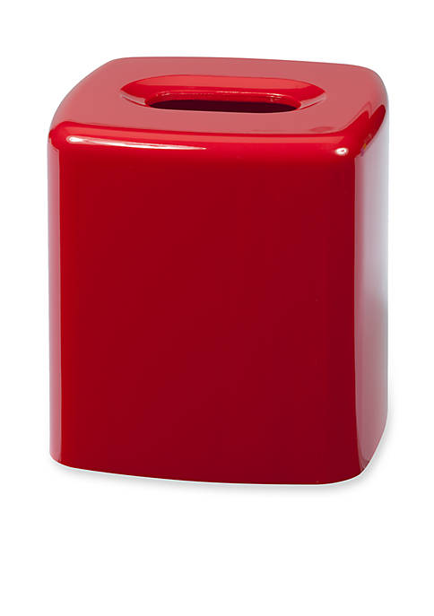 Creative Bath GEM Red Tissue Box 5.5-in. x