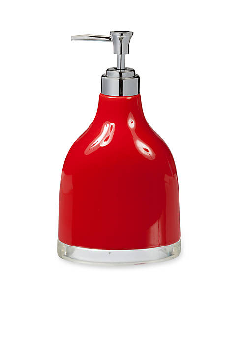 Creative Bath GEM Red Lotion Dispenser 4.12-in. x