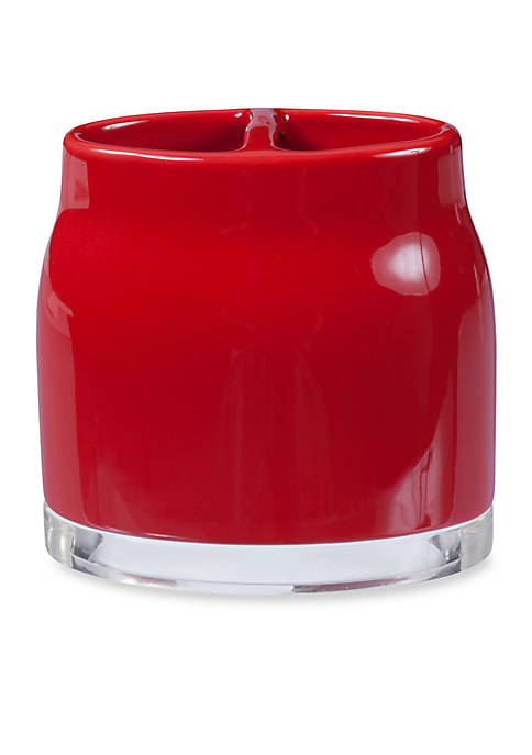 Creative Bath GEM Red Toothbrush Holder 4.25-in. x