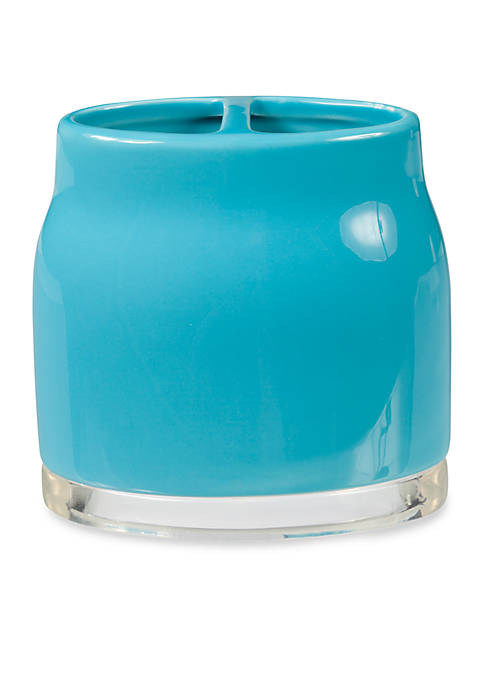 Creative Bath GEM Turquoise Toothbrush Holder 4.25-in. x