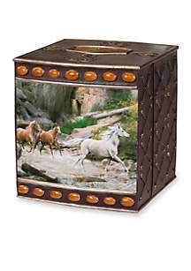 Creative Bath Horse Canyon By Hautman Brothers Tissue Box