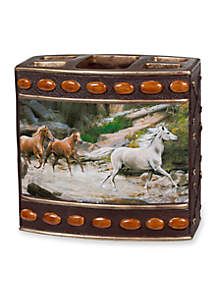 Horse Canyon By Hautman Brothers Toothbrush Holder