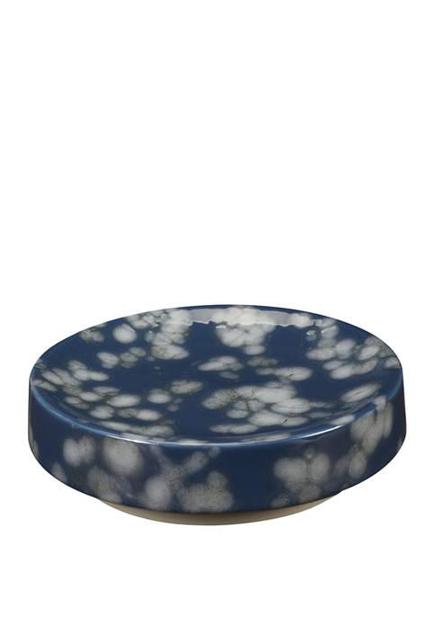 Indigo Blossom Soap Dish