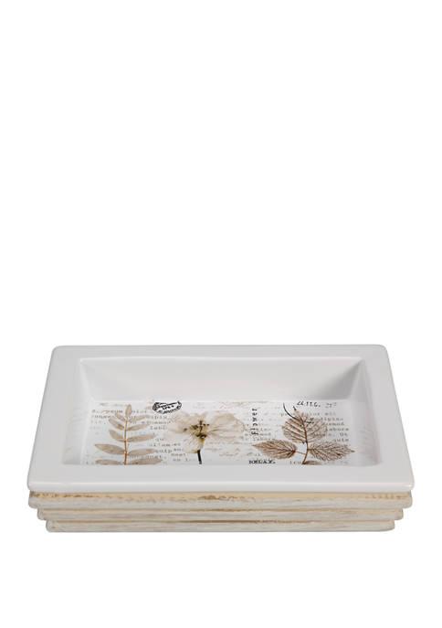 Creative Bath Pressed Leaves Soap Dish