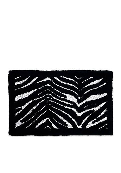 Creative Bath Zebra Bath Rug