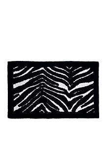 Zebra Bath Rug