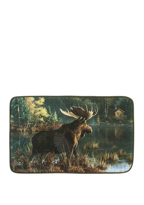 Back Bay Moose Rug
