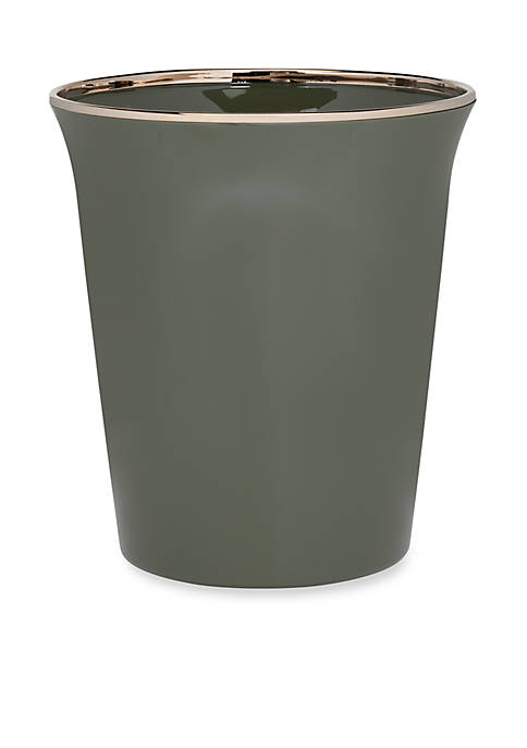 Creative Bath Regency Fern Wastebasket 9.1-in. x 9.-in.