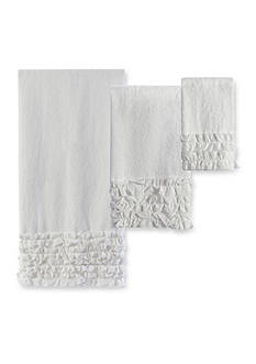 Creative Bath Ruffles Bath Towel Collection - Online Only