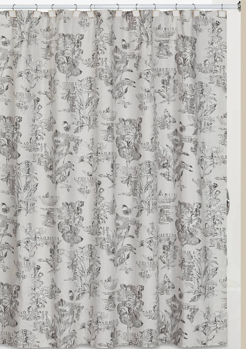 Creative Bath Sketchbook Shower Curtain