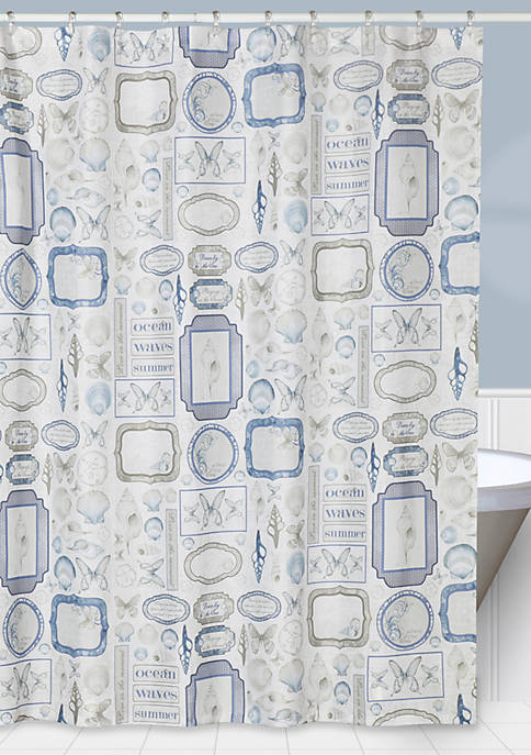 Creative Bath Seaside Shower Curtain 72-in. x 72-in.