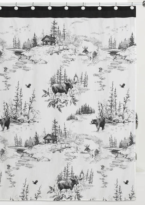 Hautman Brothers Sketches Shower Curtain