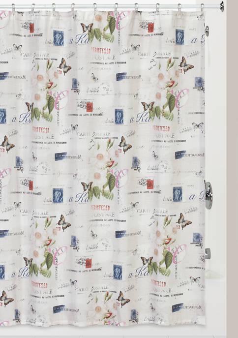 Botanical Diary Shower Curtain