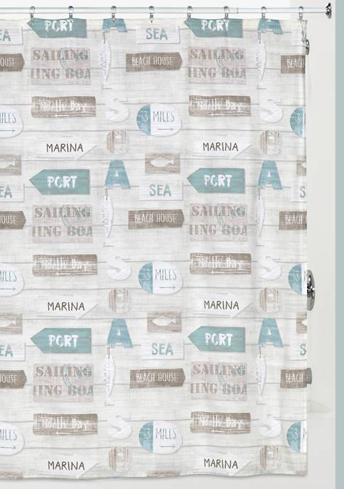 Creative Bath Driftwood Shower Curtain